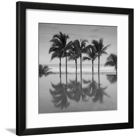 6 Palmeras-Moises Levy-Framed Art Print