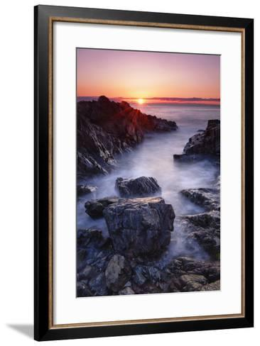 Sunrise at Marginal Way-Michael Blanchette Photography-Framed Art Print