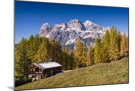 Alpine Chalet-Michael Blanchette Photography-Mounted Photographic Print