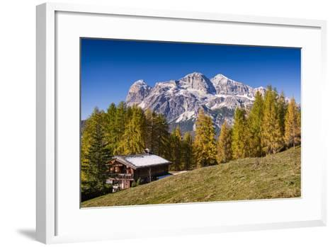 Alpine Chalet-Michael Blanchette Photography-Framed Art Print