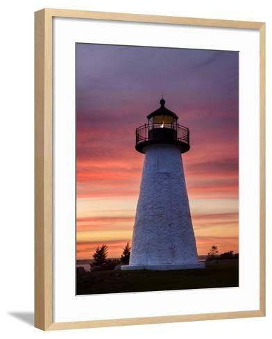 Needle in the Sky-Michael Blanchette Photography-Framed Art Print