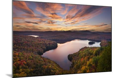Autumn Vista-Michael Blanchette Photography-Mounted Photographic Print