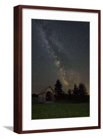 Bridge Lights-Michael Blanchette Photography-Framed Art Print