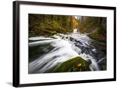 Autumn In Jura-Mathieu Rivrin-Framed Art Print