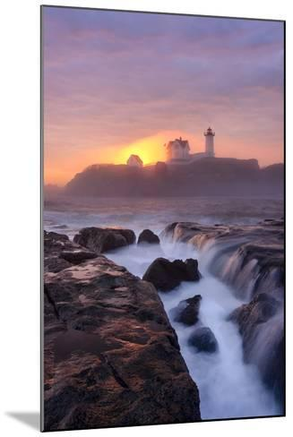 Lighthouse On Fire-Michael Blanchette Photography-Mounted Photographic Print