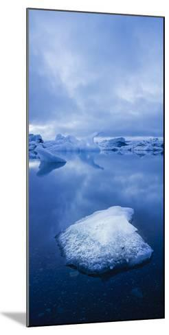 Icebergs 1 Vertical-Moises Levy-Mounted Photographic Print