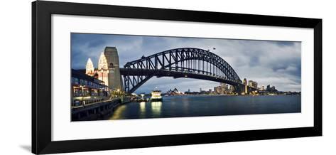 Sydney Harbour-SD Smart-Framed Art Print