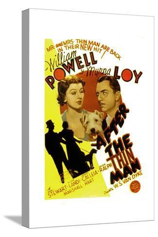 After the Thin Man, Myrna Loy, Asta, William Powell, 1936--Stretched Canvas Print
