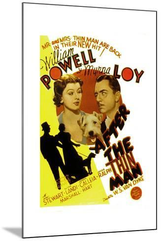 After the Thin Man, Myrna Loy, Asta, William Powell, 1936--Mounted Poster