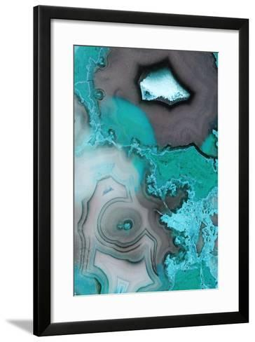 Turquoise--Framed Art Print