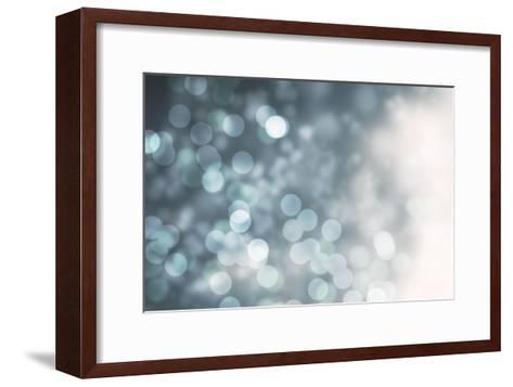 Dreamy Bokeh Midnight-THE Studio-Framed Art Print