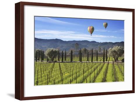 Napa Valley 1-Robert Hansen-Framed Art Print