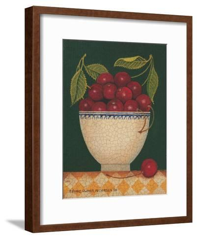 Cup O' Cherries-Diane Pedersen-Framed Art Print