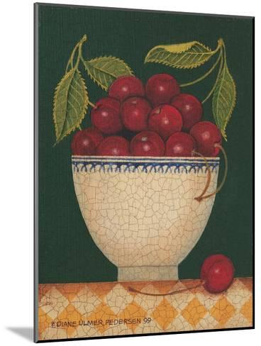 Cup O' Cherries-Diane Pedersen-Mounted Art Print