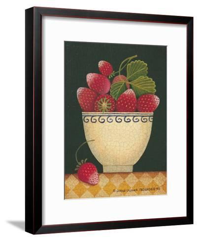 Cup O' Strawberries-Diane Pedersen-Framed Art Print