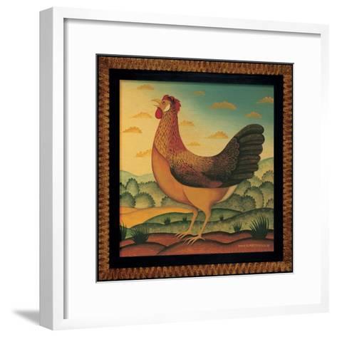 Hen-Diane Pedersen-Framed Art Print
