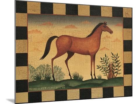 Farm Horse-Diane Pedersen-Mounted Art Print