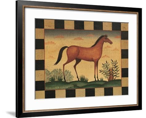 Farm Horse-Diane Pedersen-Framed Art Print
