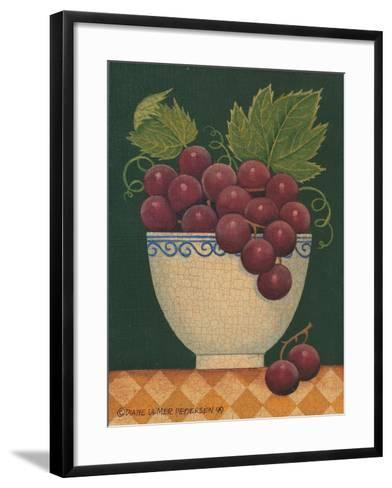 Cup O' Grapes-Diane Pedersen-Framed Art Print