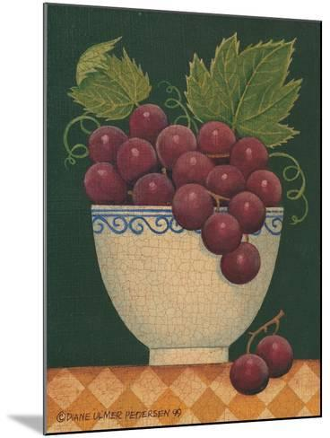 Cup O' Grapes-Diane Pedersen-Mounted Art Print