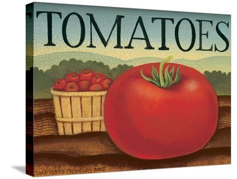 Tomatoes-Diane Pedersen-Stretched Canvas Print