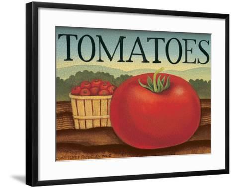 Tomatoes-Diane Pedersen-Framed Art Print