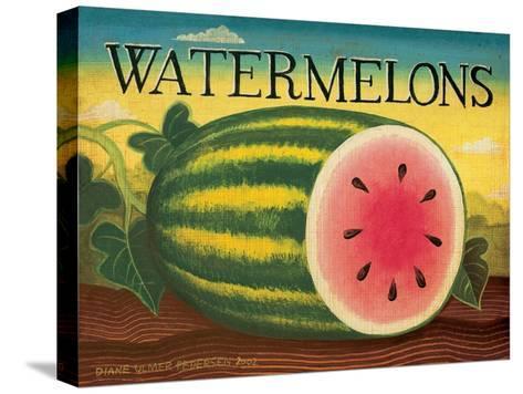 Watermelons-Diane Pedersen-Stretched Canvas Print