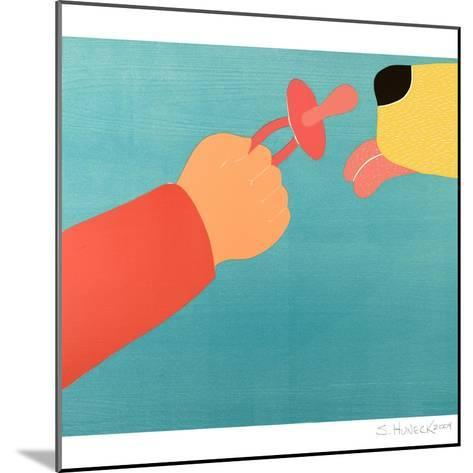 Dog For The Child Child For The Dog-Stephen Huneck-Mounted Giclee Print