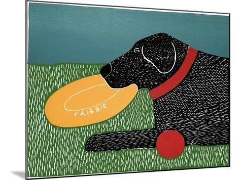 Dog Toys Good Dog Black-Stephen Huneck-Mounted Giclee Print