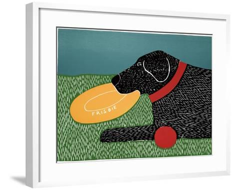 Dog Toys Good Dog Black-Stephen Huneck-Framed Art Print