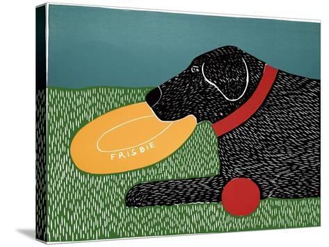 Dog Toys Good Dog Black-Stephen Huneck-Stretched Canvas Print