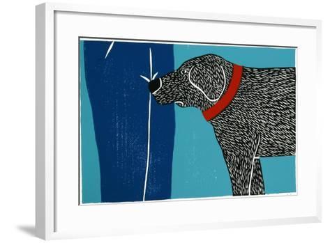 Greeting Visitors Bad Dog-Stephen Huneck-Framed Art Print