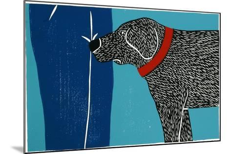 Greeting Visitors Bad Dog-Stephen Huneck-Mounted Giclee Print