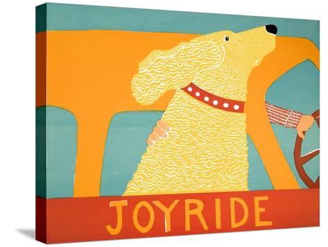 Joyride Yellow-Stephen Huneck-Stretched Canvas Print