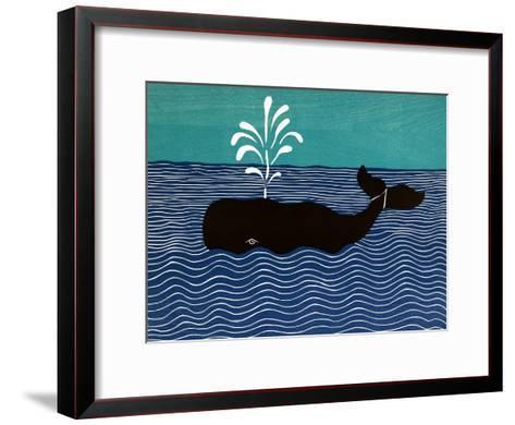 The Whale-Stephen Huneck-Framed Art Print
