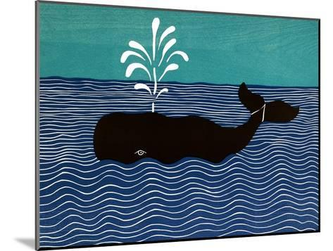 The Whale-Stephen Huneck-Mounted Giclee Print