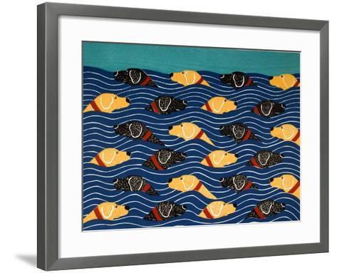 Beach Cover Sheet-Stephen Huneck-Framed Art Print