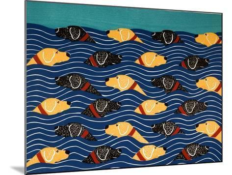 Beach Cover Sheet-Stephen Huneck-Mounted Giclee Print