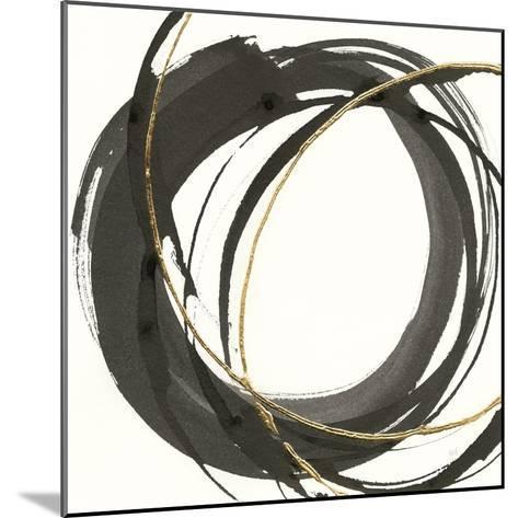 Gilded Enso I-Chris Paschke-Mounted Art Print