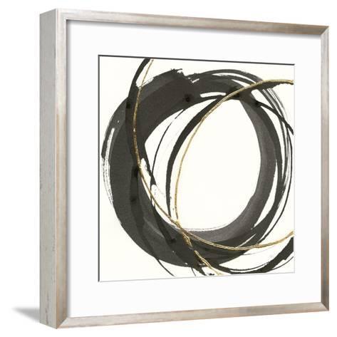 Gilded Enso I-Chris Paschke-Framed Art Print