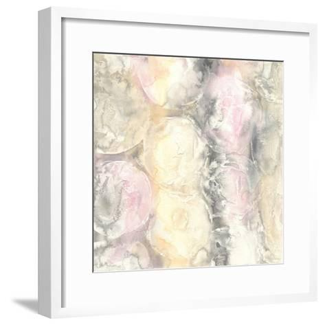 Blush Circles I-Chris Paschke-Framed Art Print
