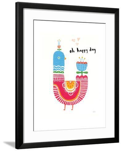 Blossom Birds I-Melissa Averinos-Framed Art Print