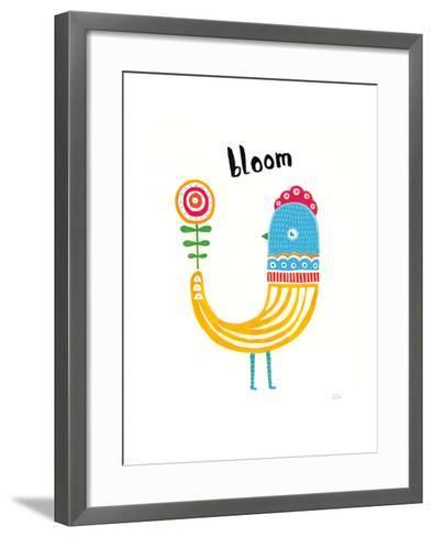 Blossom Birds II-Melissa Averinos-Framed Art Print