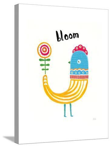 Blossom Birds II-Melissa Averinos-Stretched Canvas Print