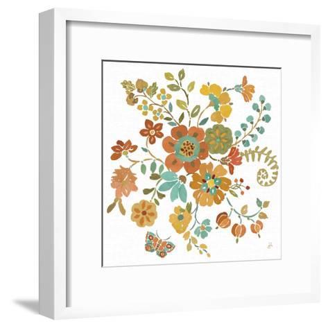 Autumn Impressions IV-Daphne Brissonnet-Framed Art Print
