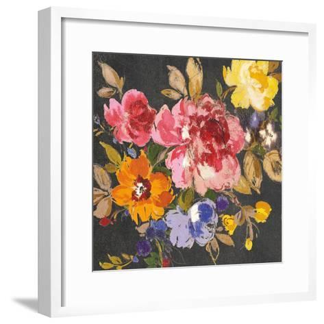 Summer Garden II Black-Wild Apple Portfolio-Framed Art Print