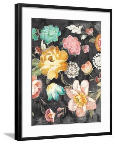 Garden of Delight Black III-Danhui Nai-Framed Art Print