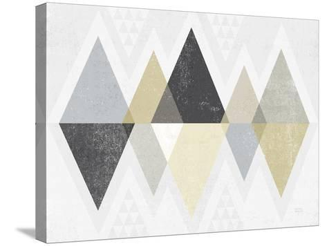 Mod Triangles II Archroma-Michael Mullan-Stretched Canvas Print