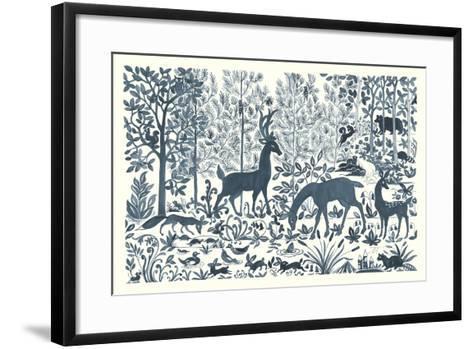 Forest Life I-Miranda Thomas-Framed Art Print