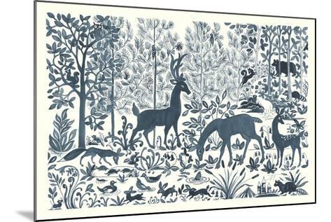 Forest Life I-Miranda Thomas-Mounted Art Print